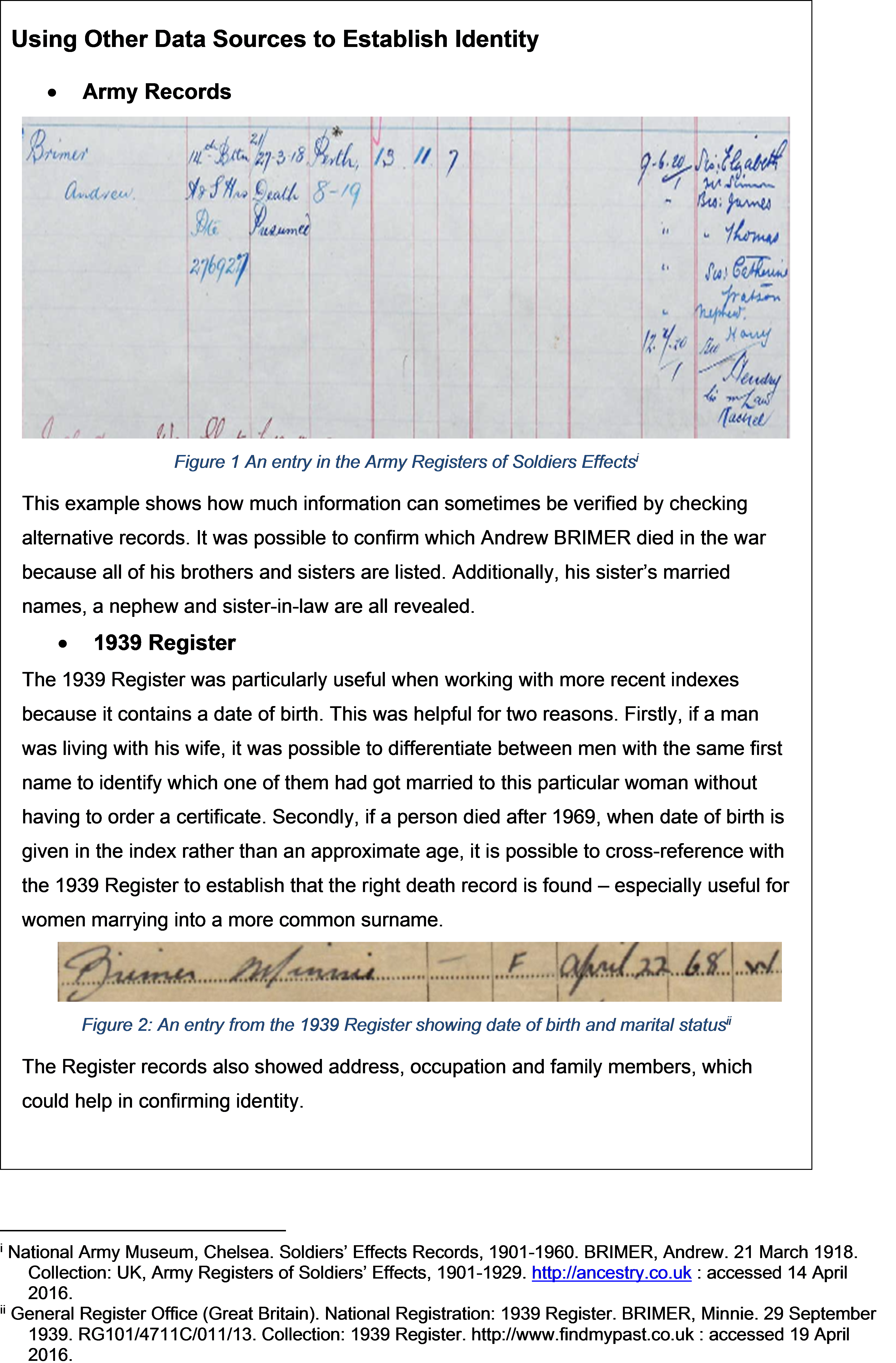 One name study brimer brymer surname research once all of the spreadsheet entries had been entered onto family tree maker it was apparent that some individuals had data missing yelopaper Image collections